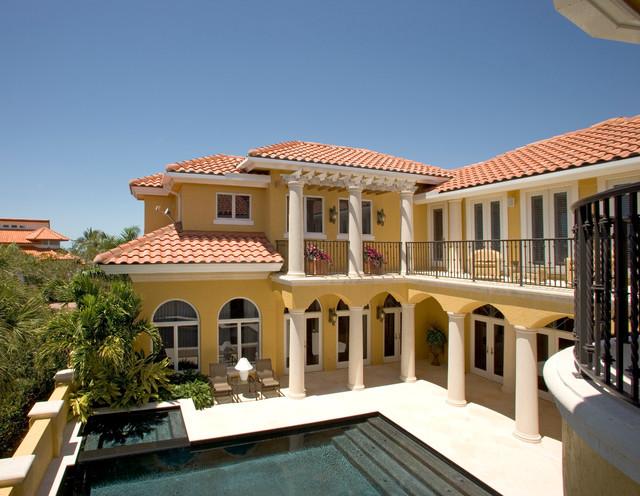 Sater Group's Villoresi Custom Home Design Mediterranean Impressive Miami Home Design Exterior