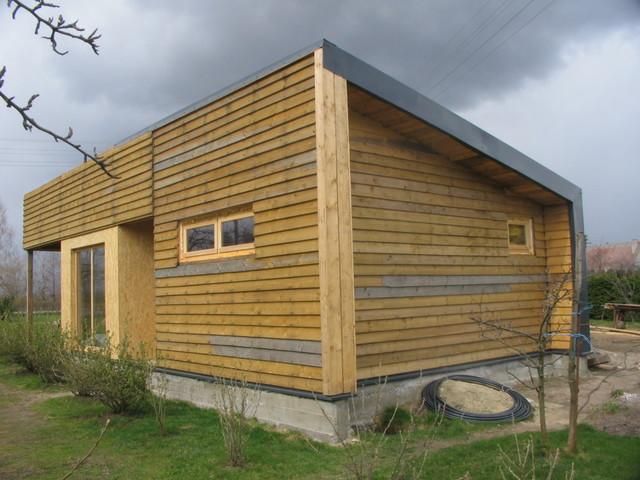 Sauna house contemporary-exterior