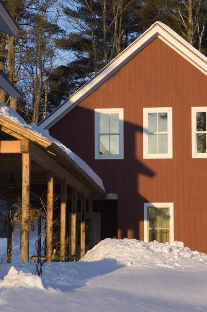 Jericho Farmhouse farmhouse-exterior