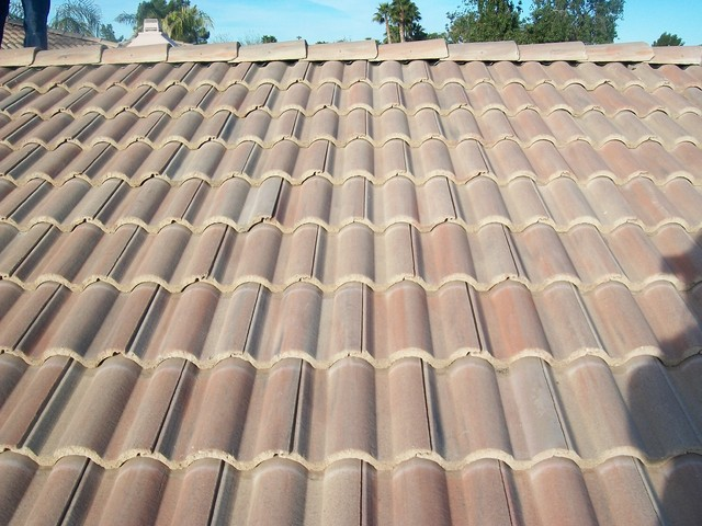 Sayama Residence - Roof Repair in Phoenix traditional-exterior