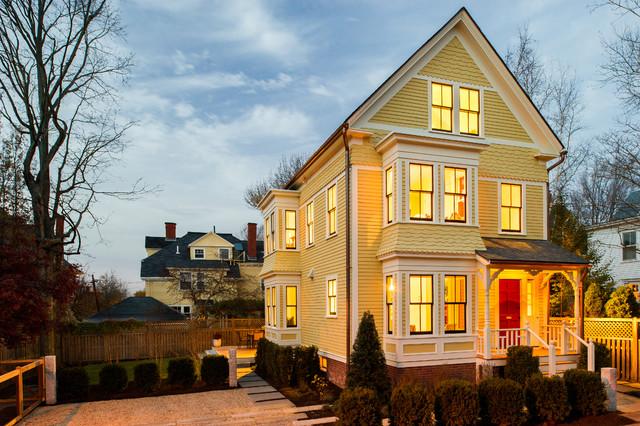 Scandinavian modern victorian exterior boston by marcus gleysteen architects for Traditional scandinavian home design