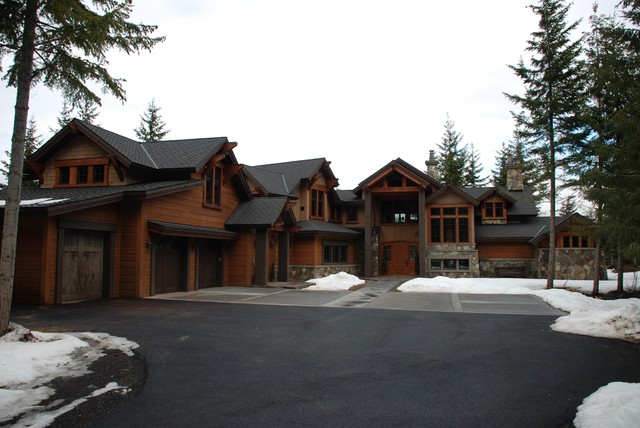 Scatter Creek Residence traditional-exterior