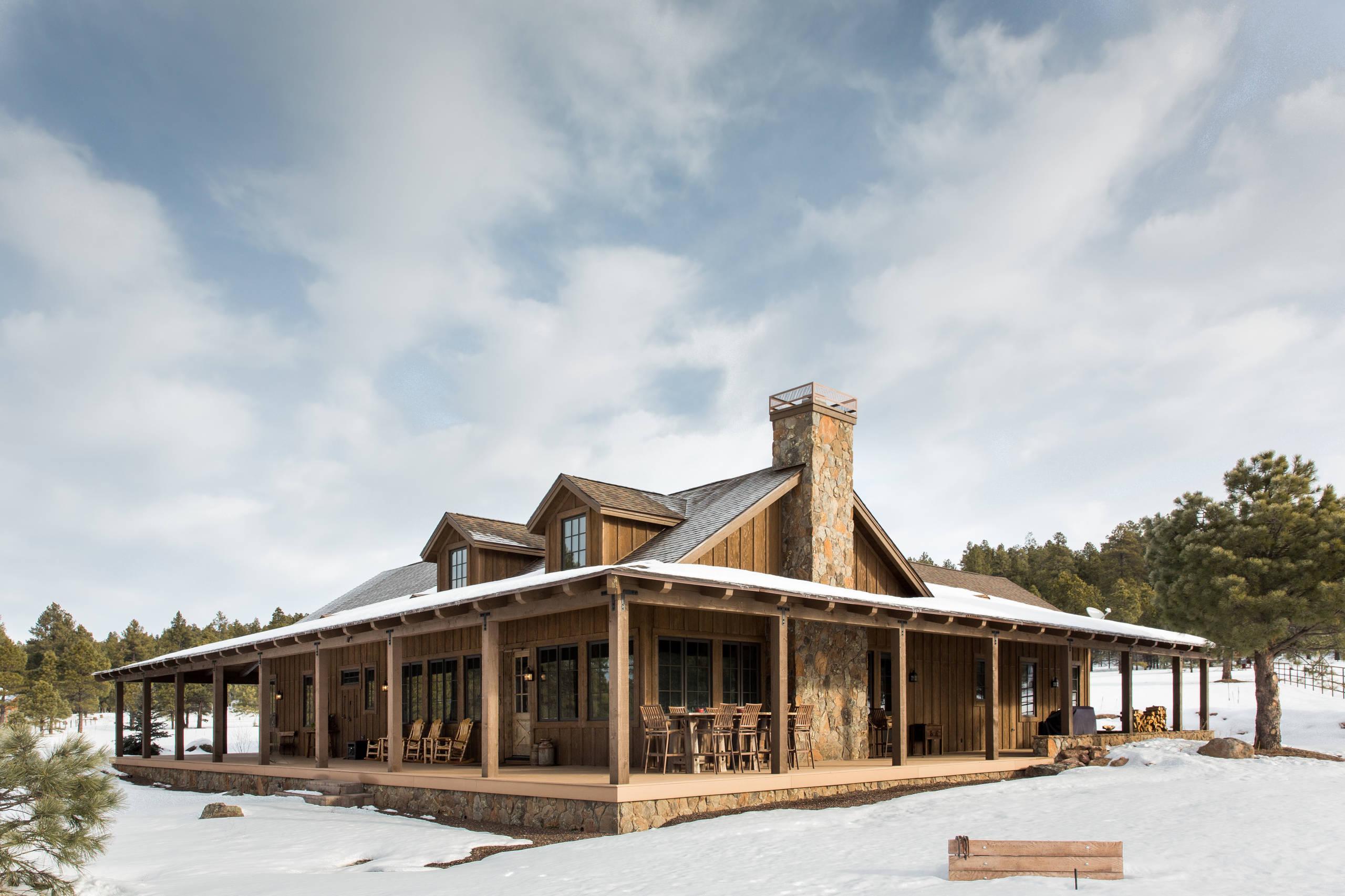 Ranch With Wrap Around Porch Exterior Ideas & Photos   Houzz