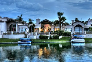 Scottsdale Waterfront Homes - Mediterranean - Exterior - phoenix - by ...