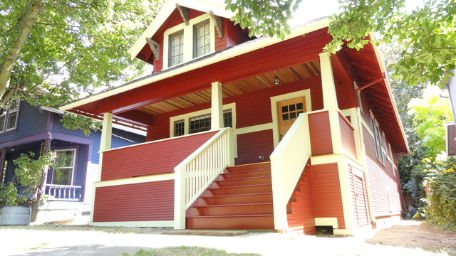 SE Portland Siding Project Traditional Exterior