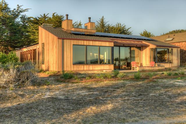 Sea Ranch Residence Midcentury Exterior San