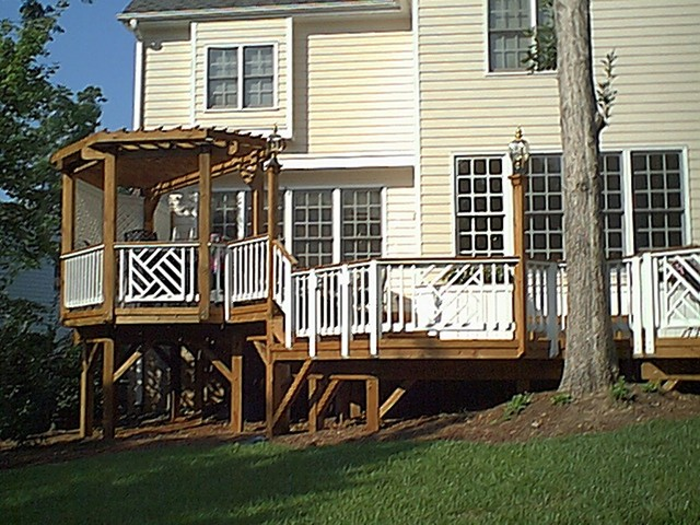 Seabreeze Court Deck Traditional Exterior Raleigh