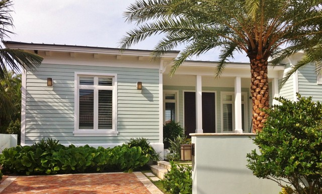 SeaFoam Bungalow tropical-exterior