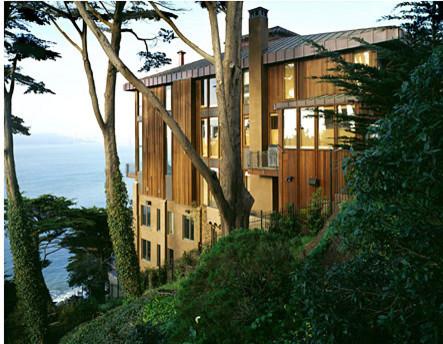Seaside Residence modern-exterior