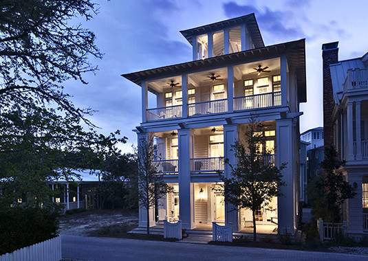 Seaside Residence - Beach Style - Exterior - birmingham - by Williams ...