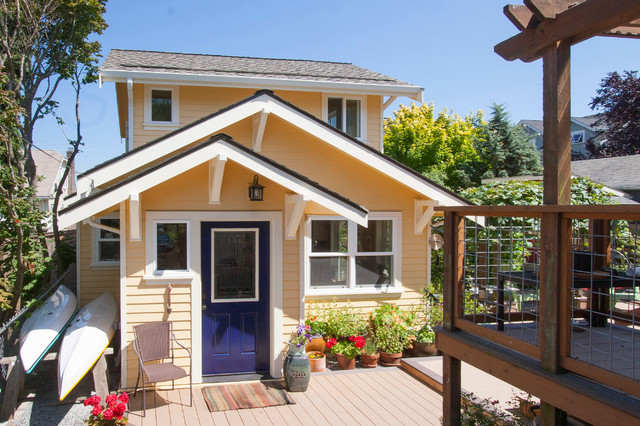 Backyard Cottage Seattle seattle backyard cottage - traditional - exterior - seattle -s2