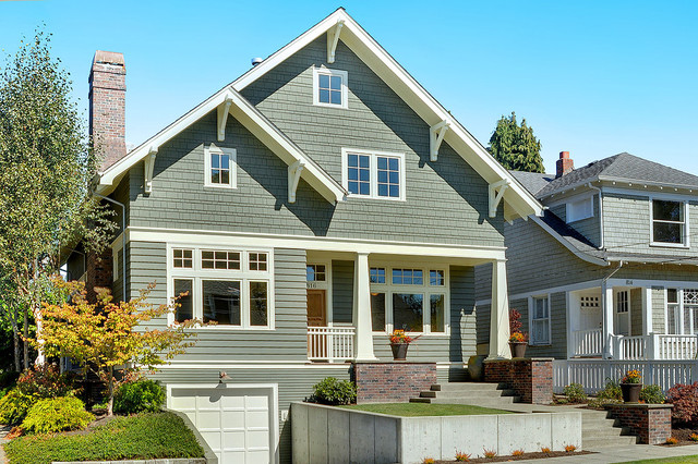 Seattle craftsman house