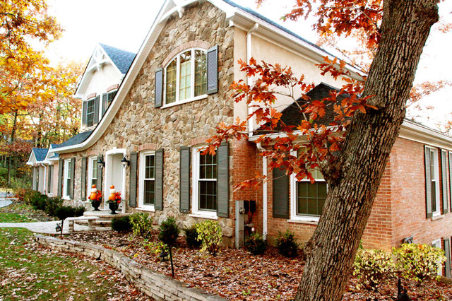 Second Story Addition - Traditional - Exterior - chicago - by Normandy ...