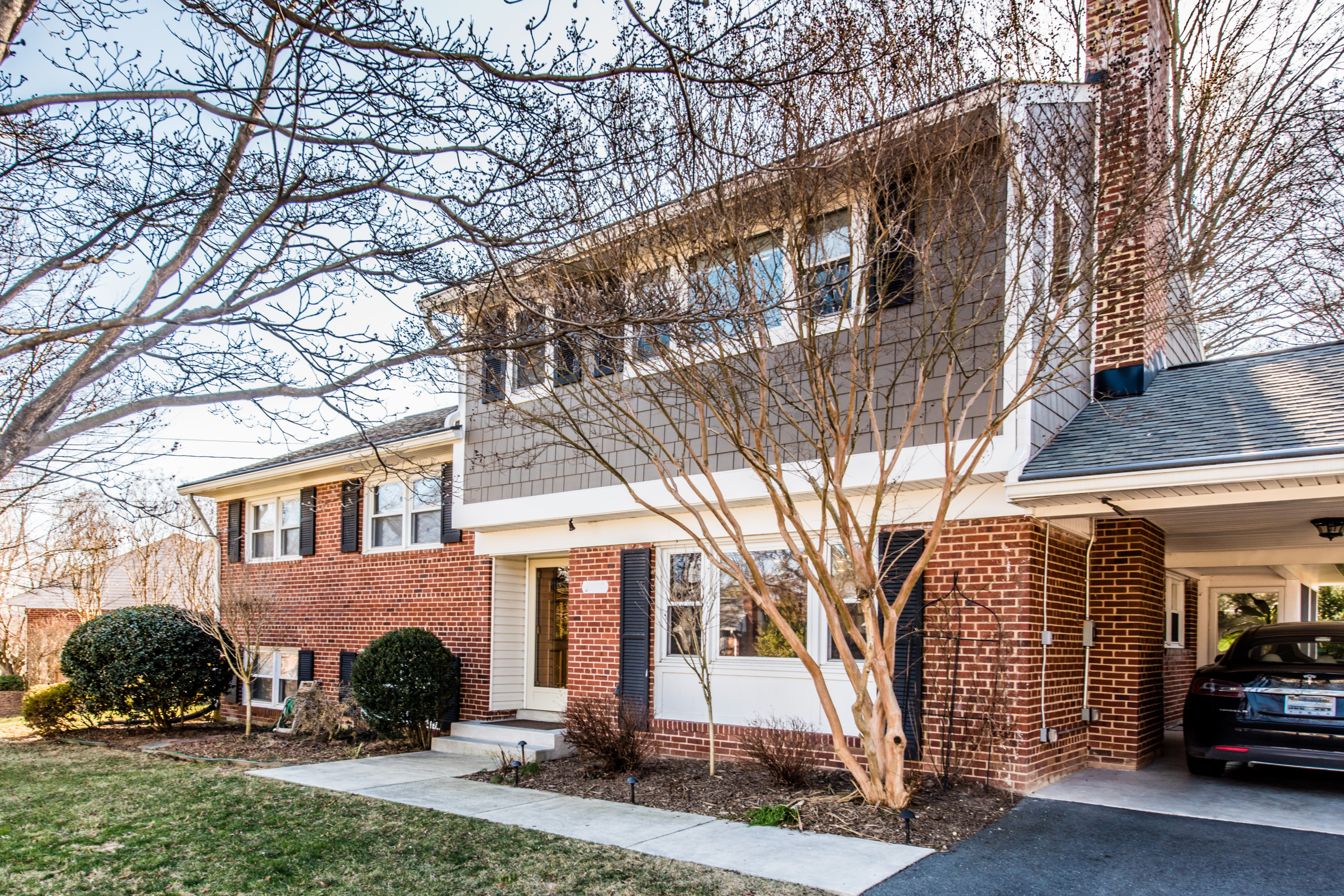 Second Story, Split-Level Addition in McLean, VA