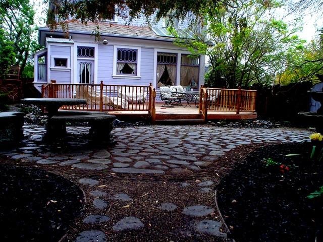 Secret Garden traditional-exterior