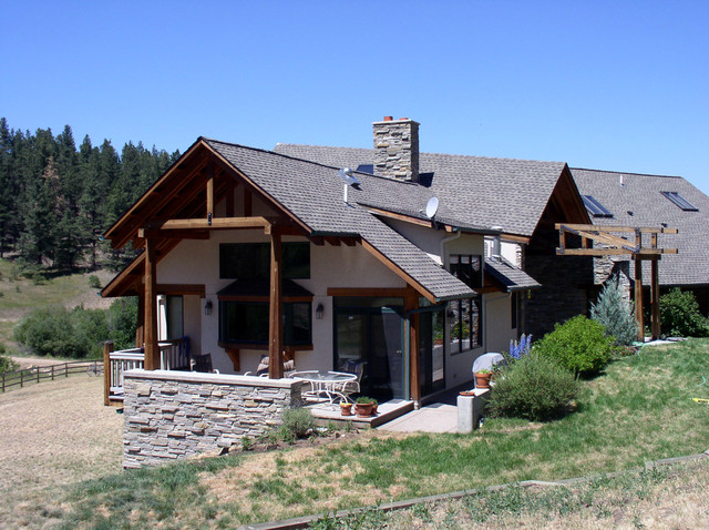 September ranch residence traditional exterior other for Dsa architecture