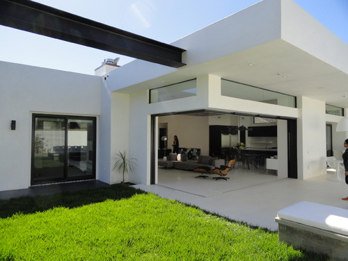 Stucco color for Modern alternatives to stucco