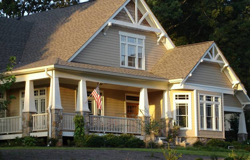 Shaw Residence traditional-exterior