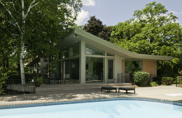 ... Roof - Modern - Exterior - other metro - by Ginkgo House Architecture