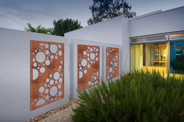 Shelley western australia contemporaneo facciata for Casa in stile scandole