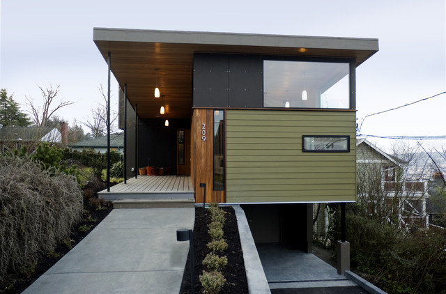 Shelton rynd residence modern exterior seattle by - Affordable interior design seattle ...