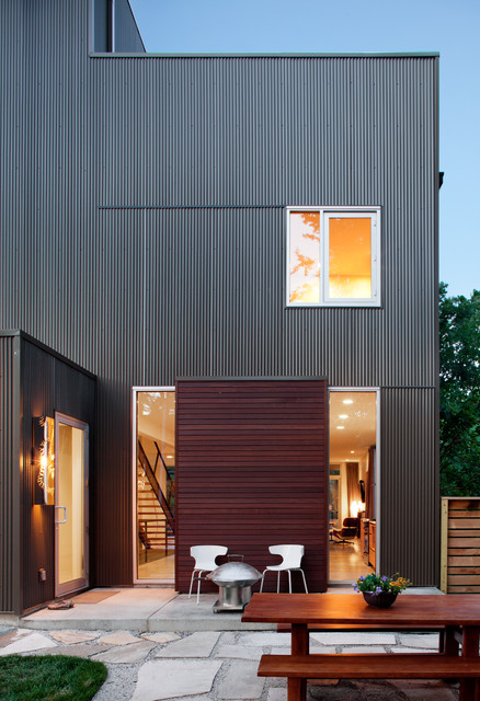 Shepherds Residence Modern Exterior Kansas City By