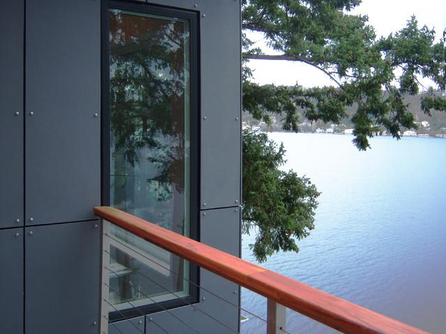 Sher Residence modern-exterior