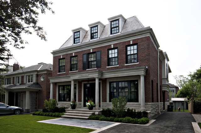sherwood custom homes traditional exterior