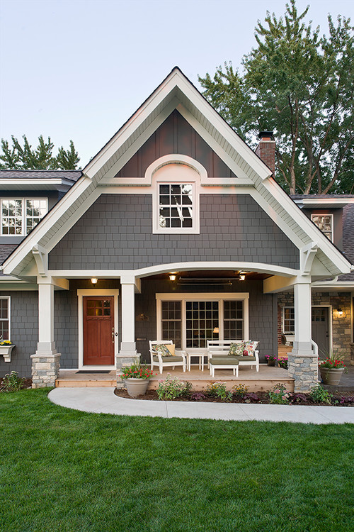 Tricks for choosing exterior paint colors - Exterior paint colours for wood pict ...