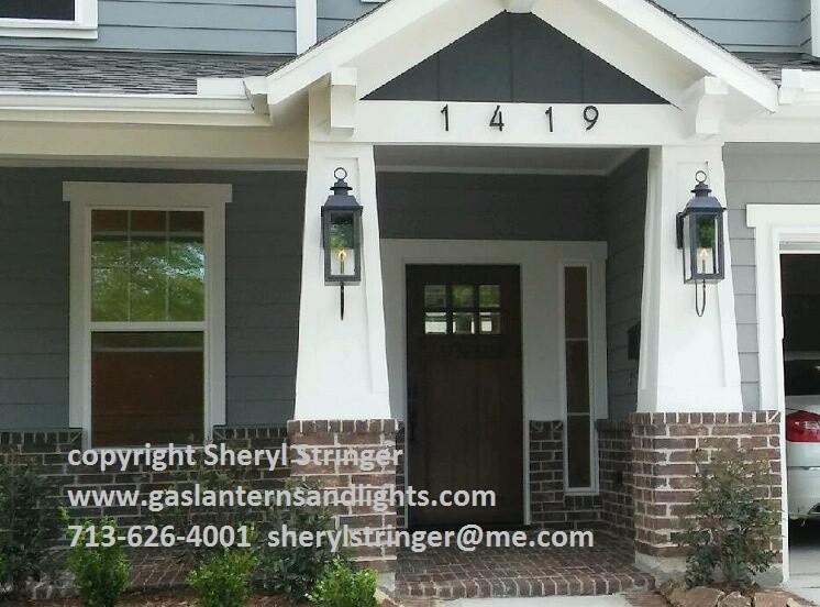 Shery''s Style 3 Lanterns on Steel Wall Brackets