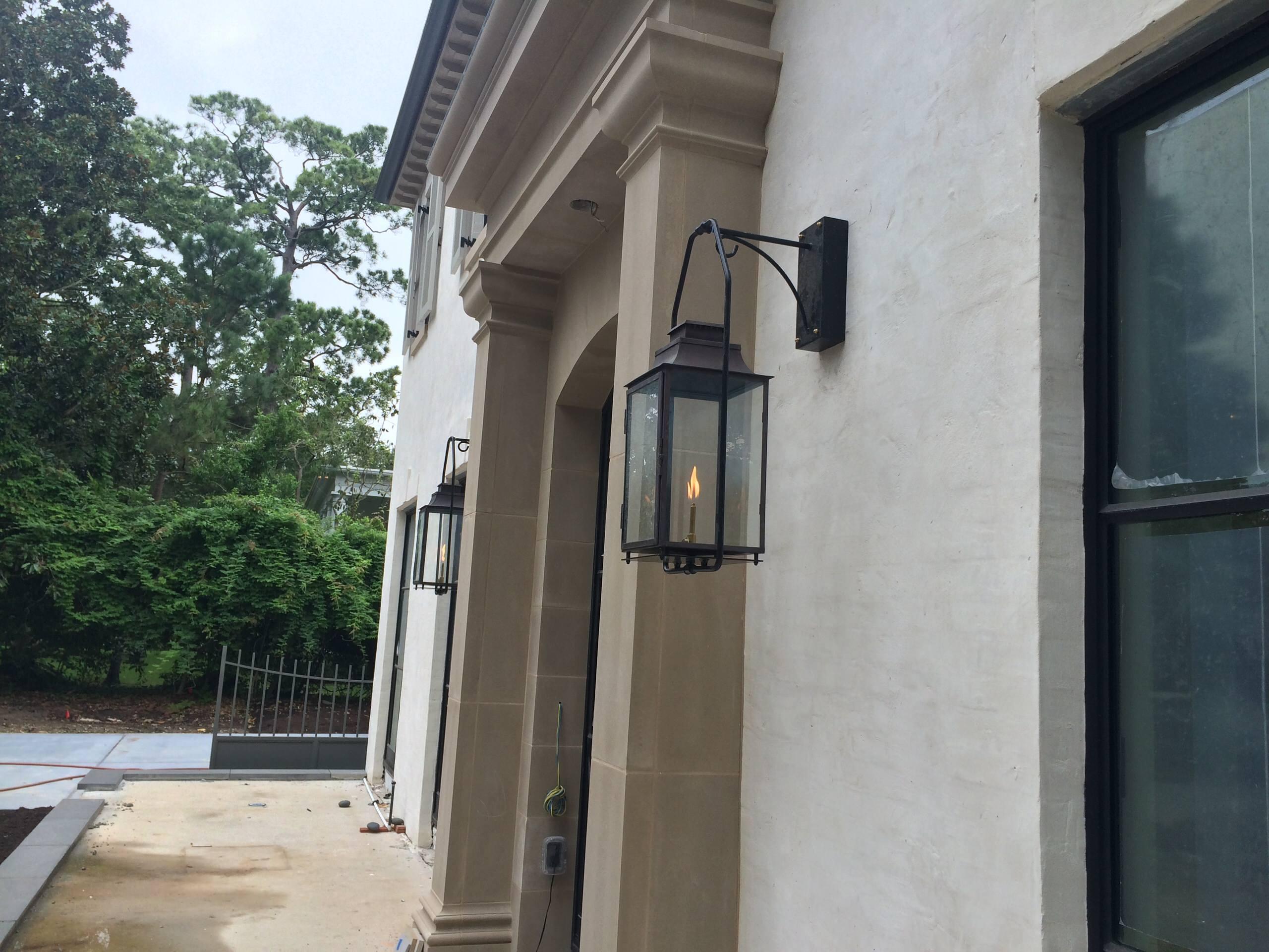 Sheryl's Del Monte Gas Lanterns