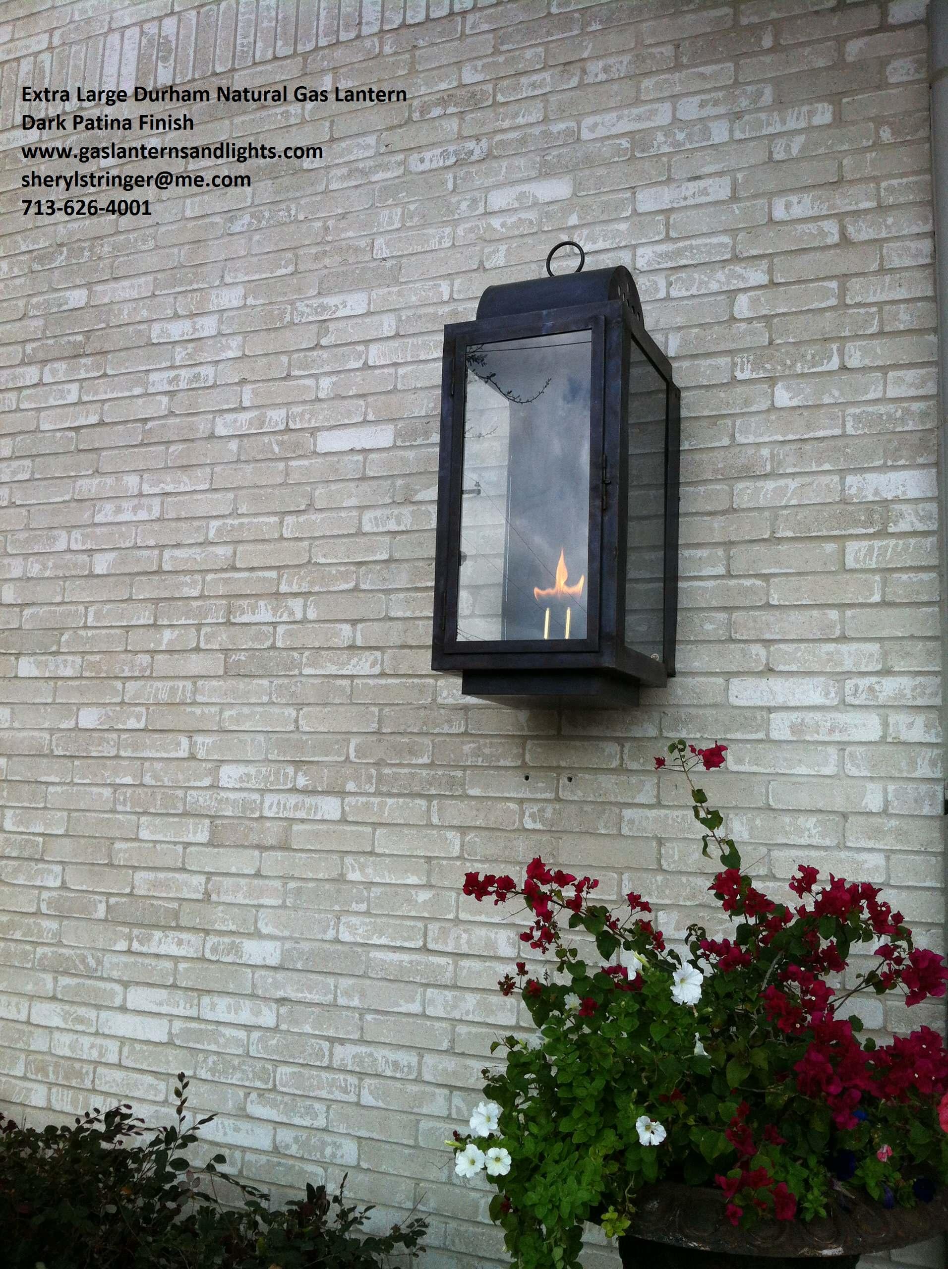 Sheryl's Durham Gas Lanterns