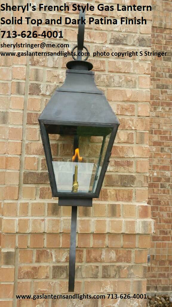 Sheryl's French Lanterns with Solid Tops