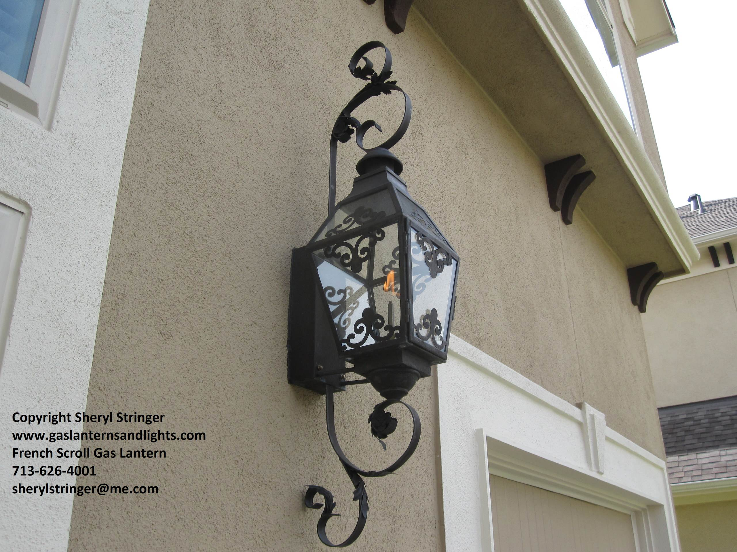 Sheryl's French Style Gas and Electric Lanterns