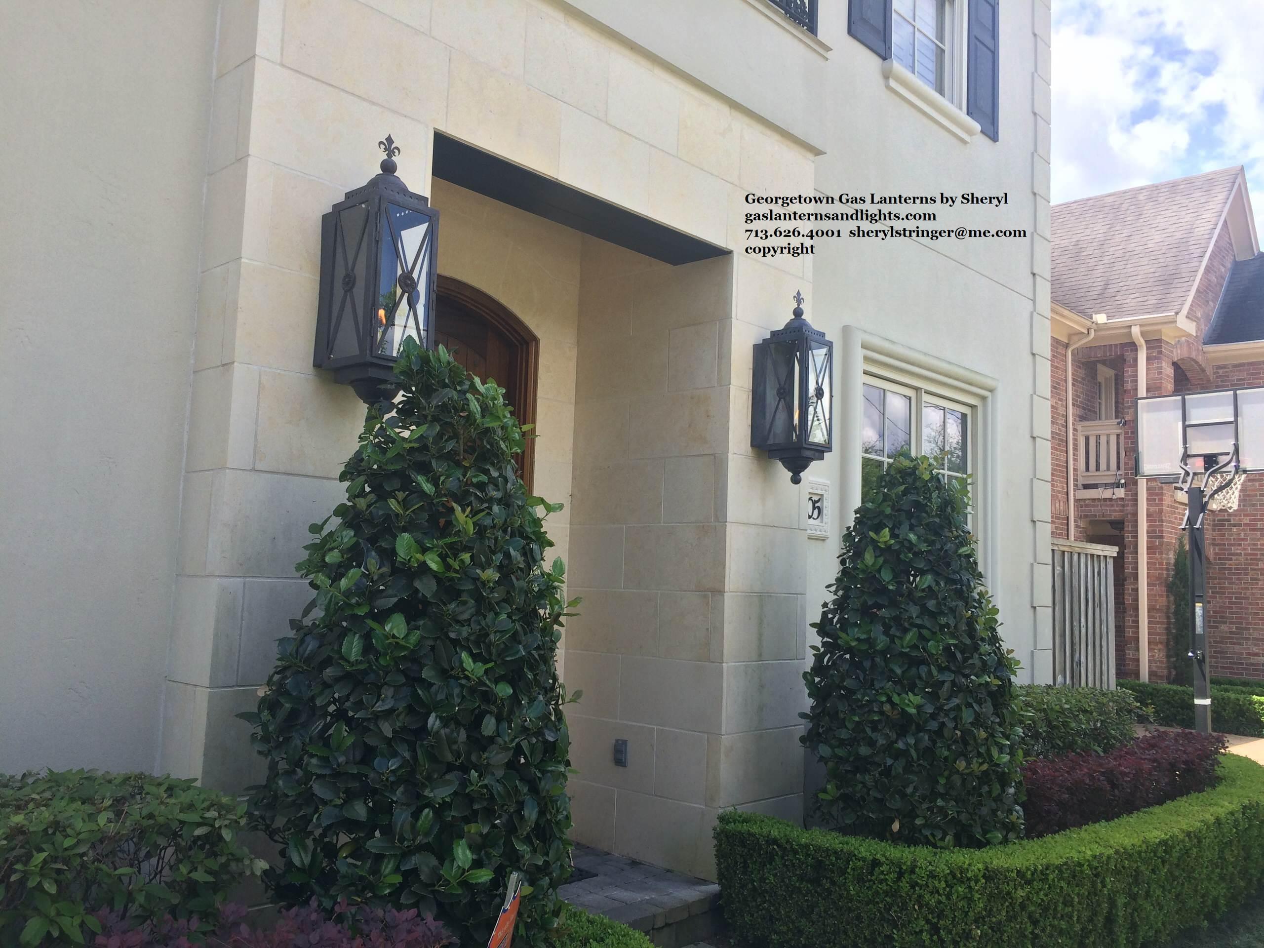 Sheryl's Georgetown Gas Lantern