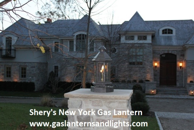 Sheryl's Gothic and Six Sided Gas Lanterns