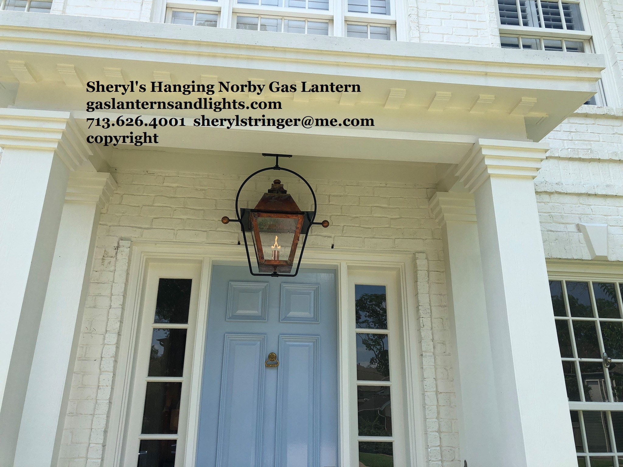 Sheryl's Hanging Gas Lanterns