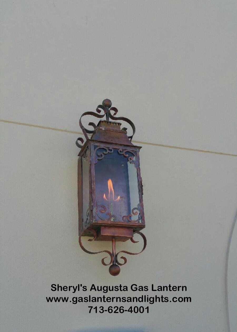 Sheryl's Ornate Gas Lanterns