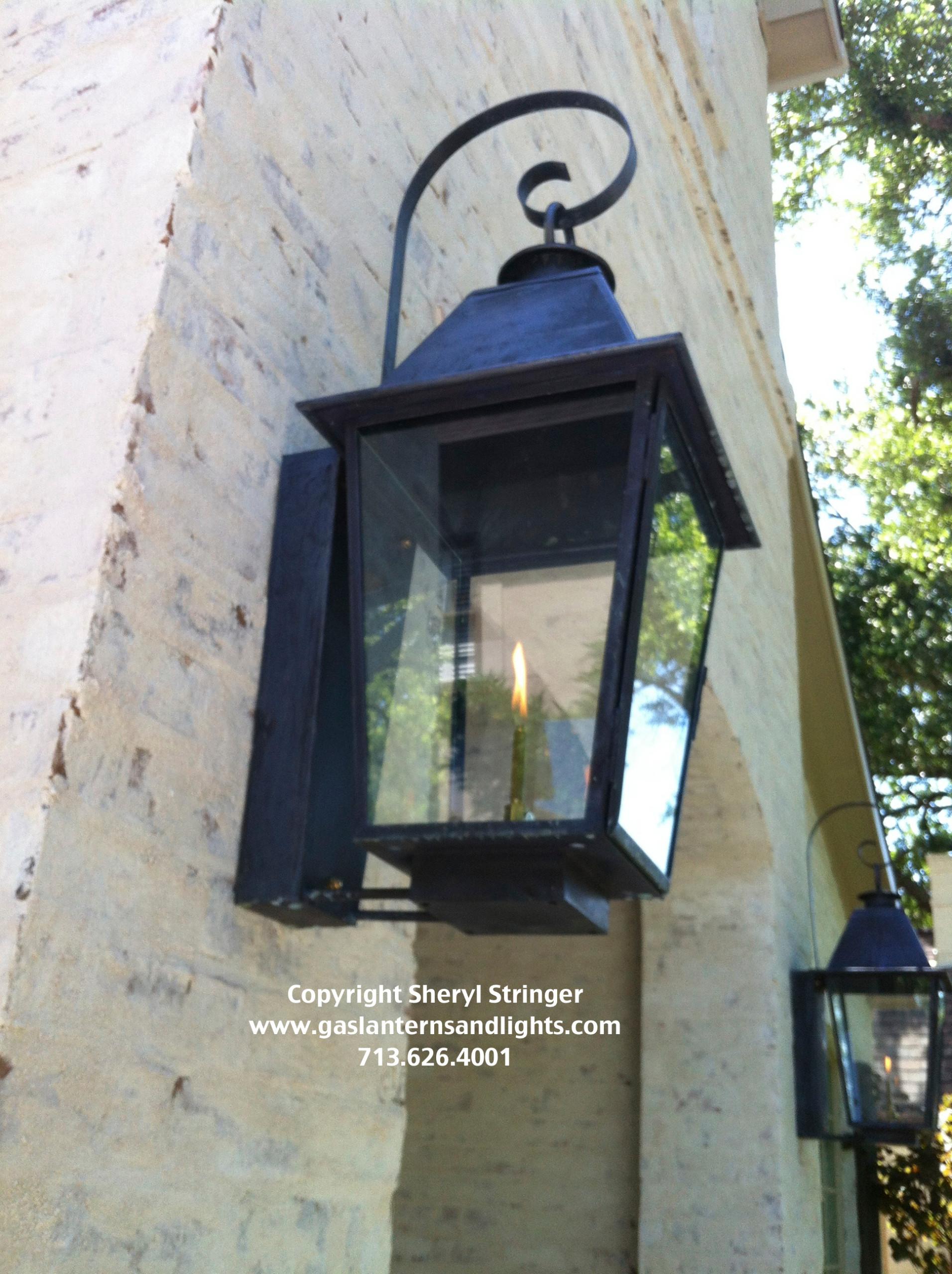 Sheryl's Plantation Style Gas Lantern