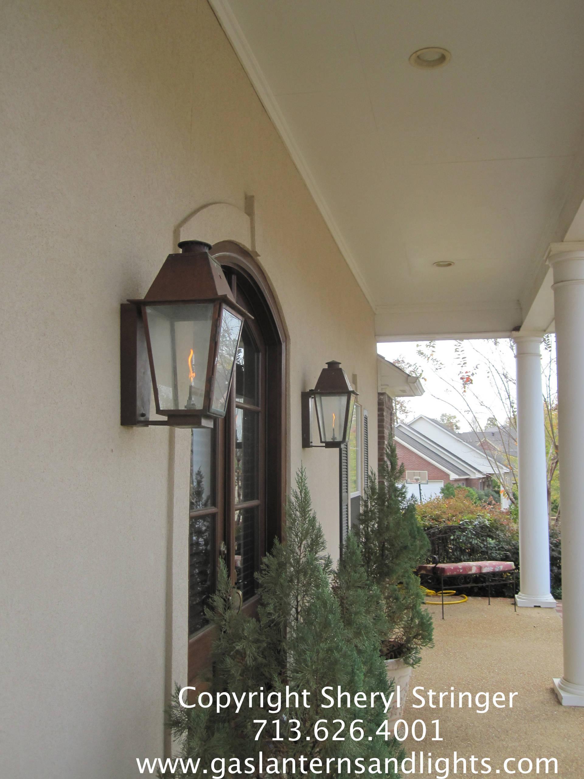 Sheryl's Plantation Style Gas Lanterns