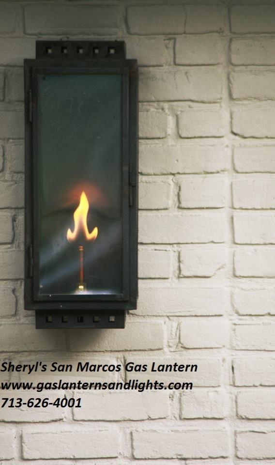 Sheryl's San Marcos Modern Gas Lantern