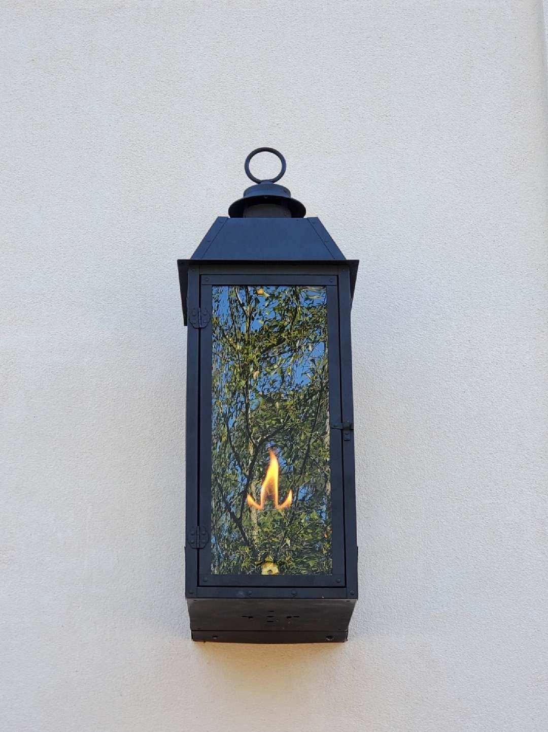 Sheryl's Style 3 Natural Gas Lantern