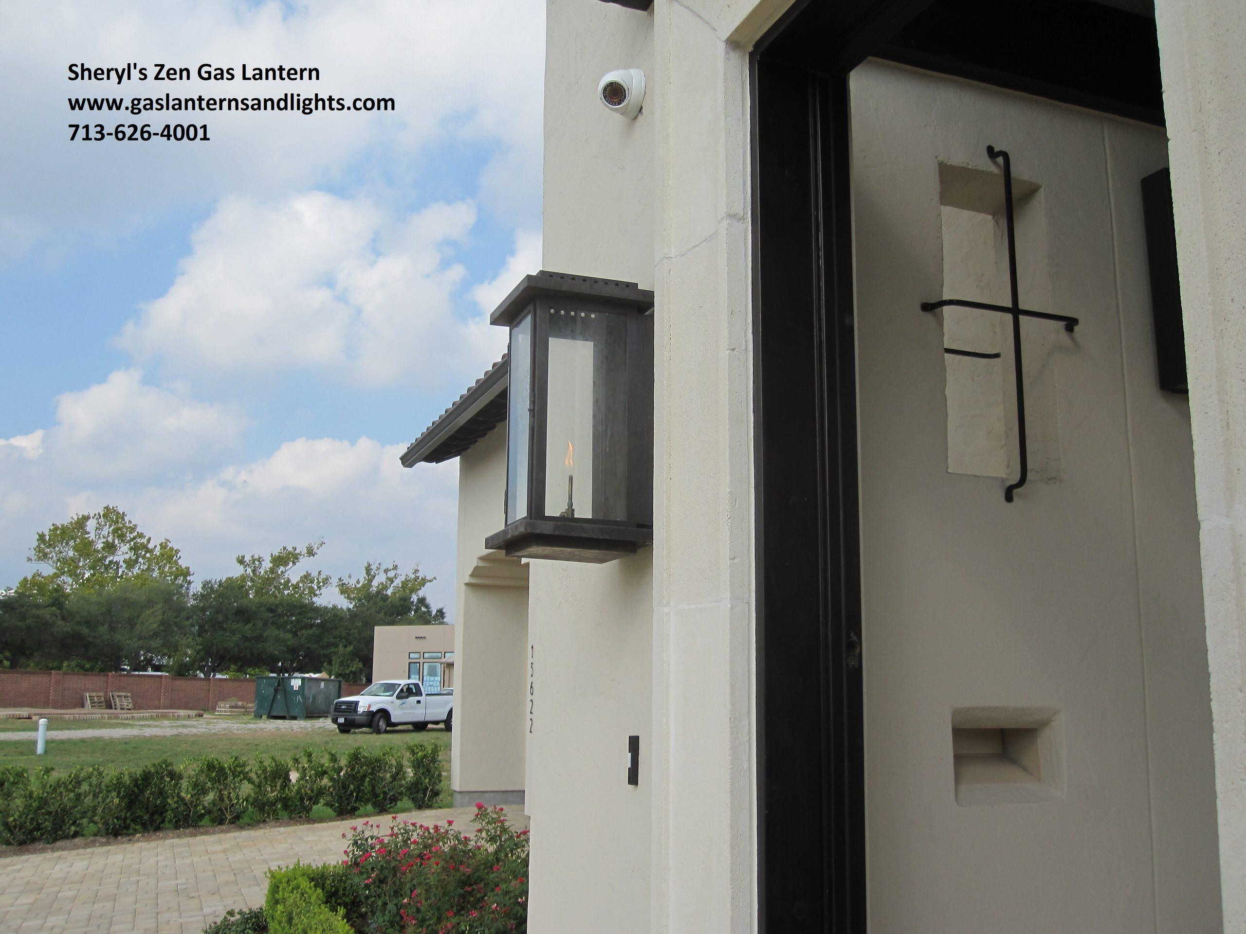 Sheryl's Zen Transitional  Gas Lanterns