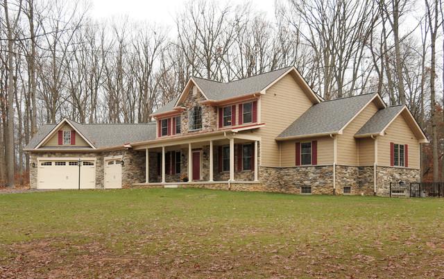Shifflett Residence traditional-exterior