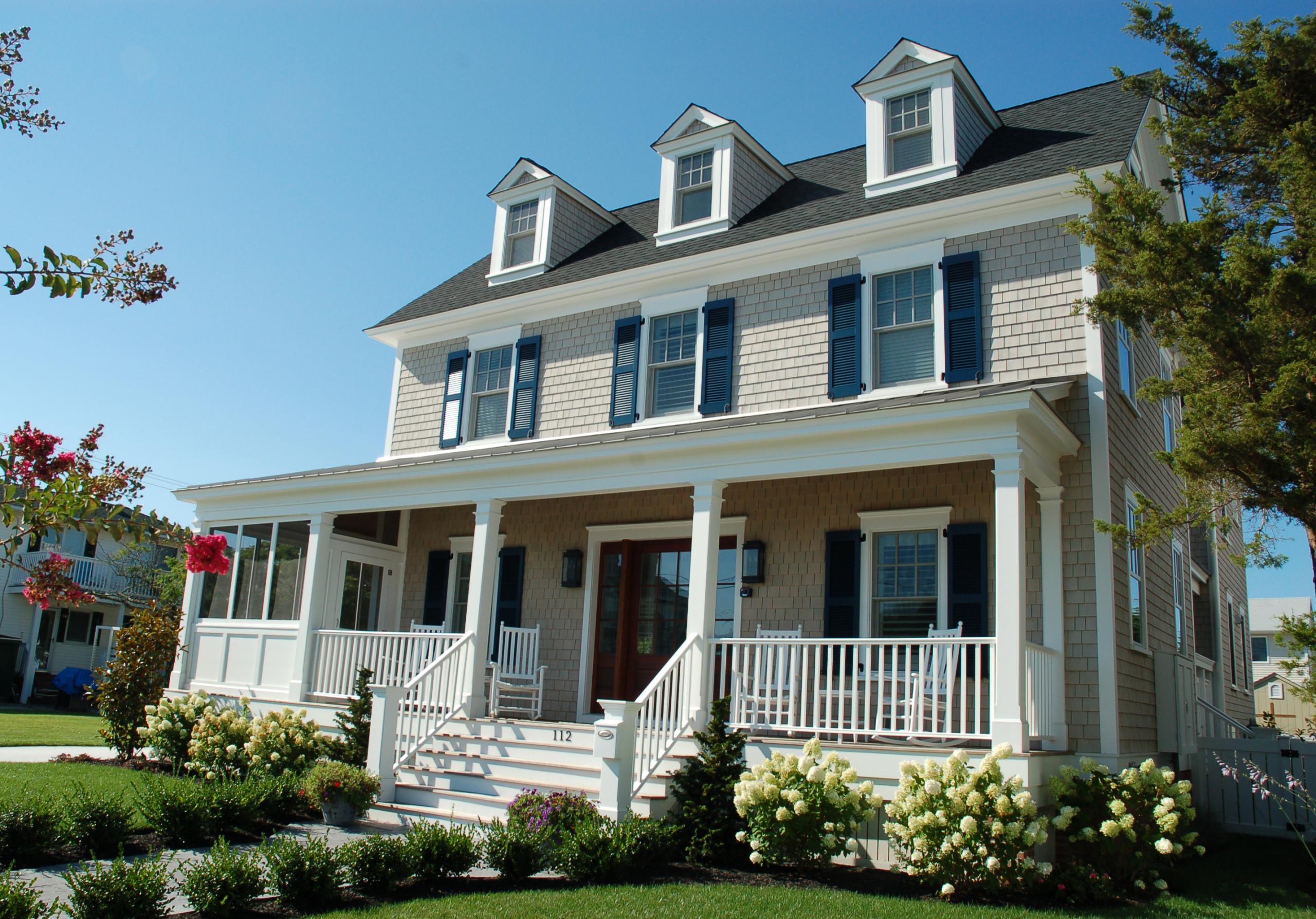Shingle Style Colonial in Avalon, NJ