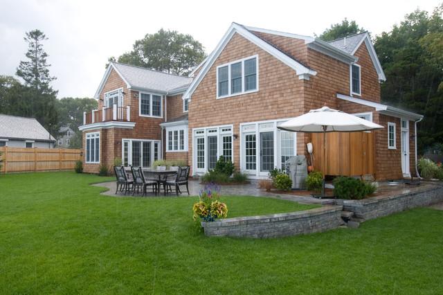 Shingle style cottage traditional exterior boston for Shingle style cottage