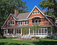 Shingle style cottage lakeview exterior traditional-exterior