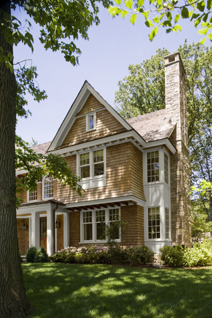 Shingle Style Exterior 2 traditional-exterior