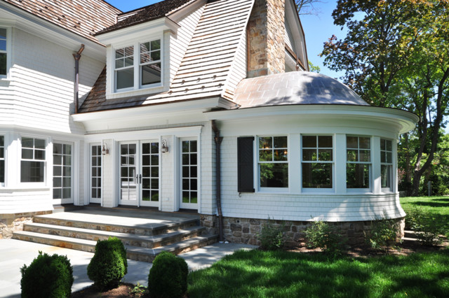 Shingle Style Home Traditional Exterior New York