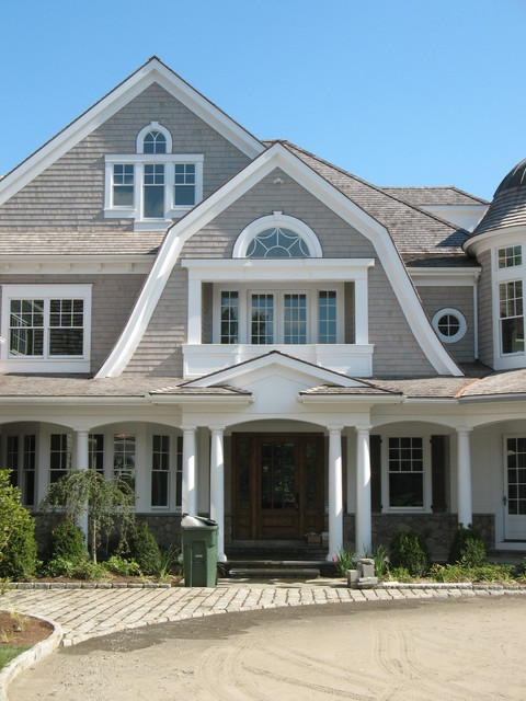 Shingle style victorian exterior other metro by for Victorian shingles